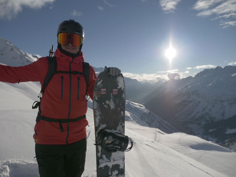Review of the Protest Clavin 18 Low cost high quality ski jacket Photo by Jamie Barrow