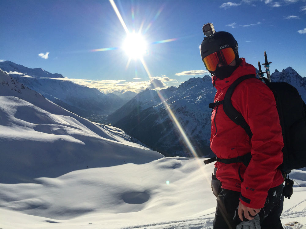 Review of the Protest Clavin 18 Low cost high quality ski jacket Photo of Jamie Barrow