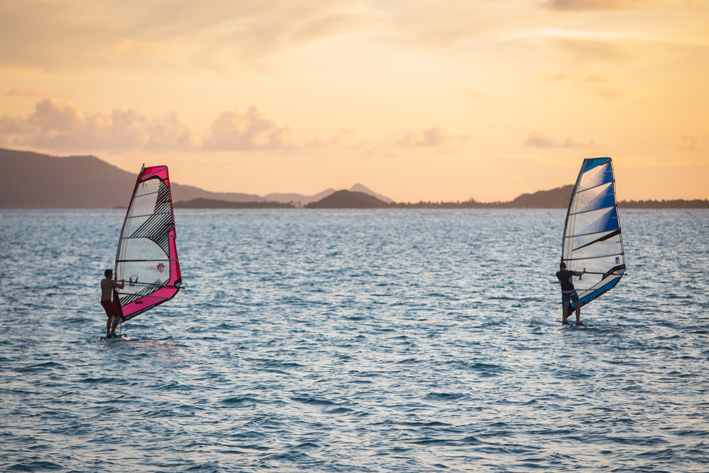 St Vincent and Grenadines Caribbean windsurfing Flickr CC image by _dChris