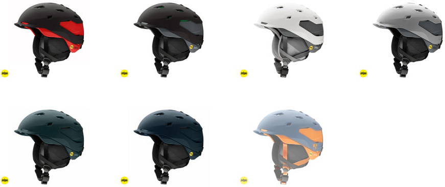 review of Smith Quantum ski Helmet with MIPS protection colour options