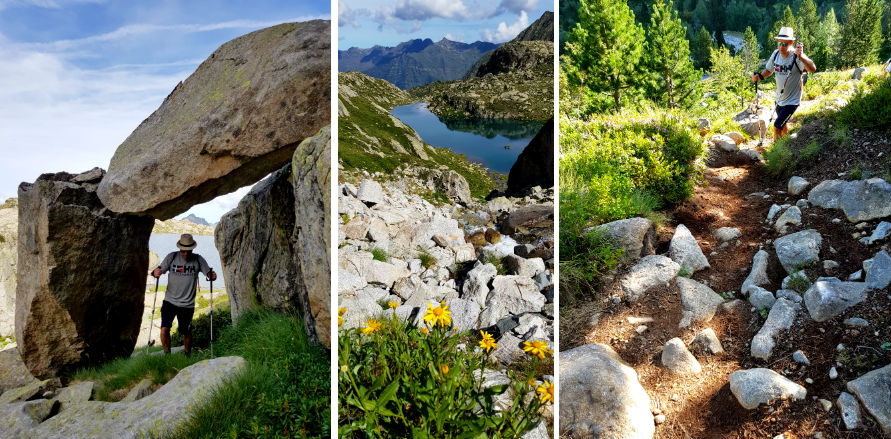 Day Hike National Reserve of Nouvielle during French Pyrenees Multi activity summer mountain trip
