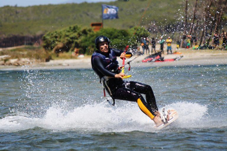 Punta Trettu kitesurfing holidays in South Sardinia