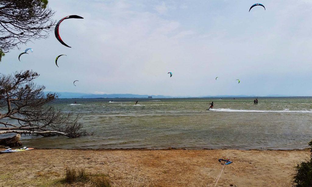 Guide to Punta Trettu kitesurfing holidays in South Sardinia