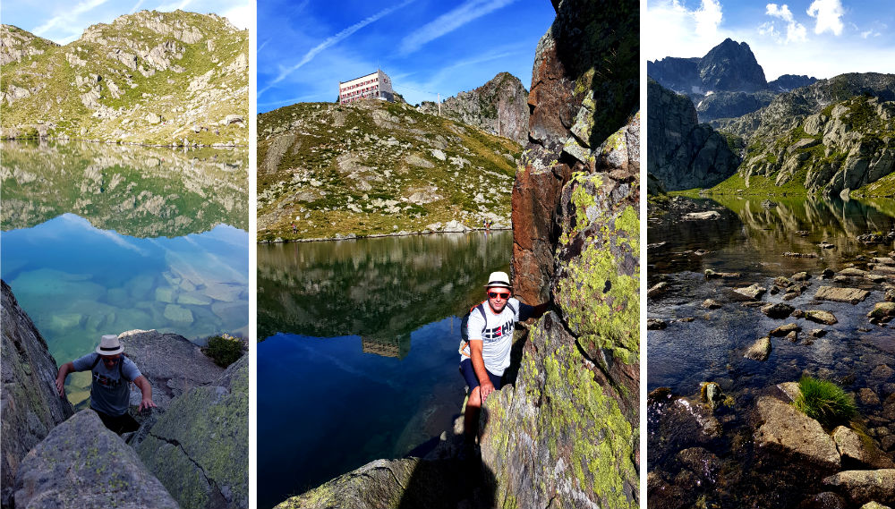 Hiking National Reserve of Nouvielle in the French Pyrenees