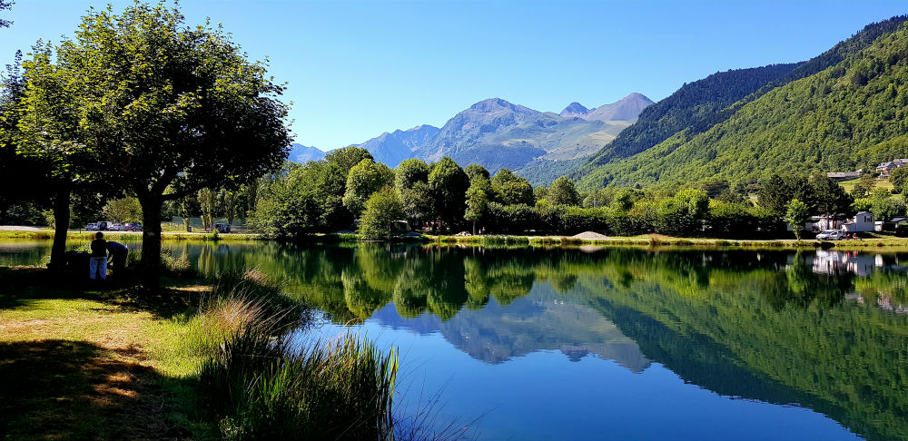 Louron Valley in French Pyrenees
