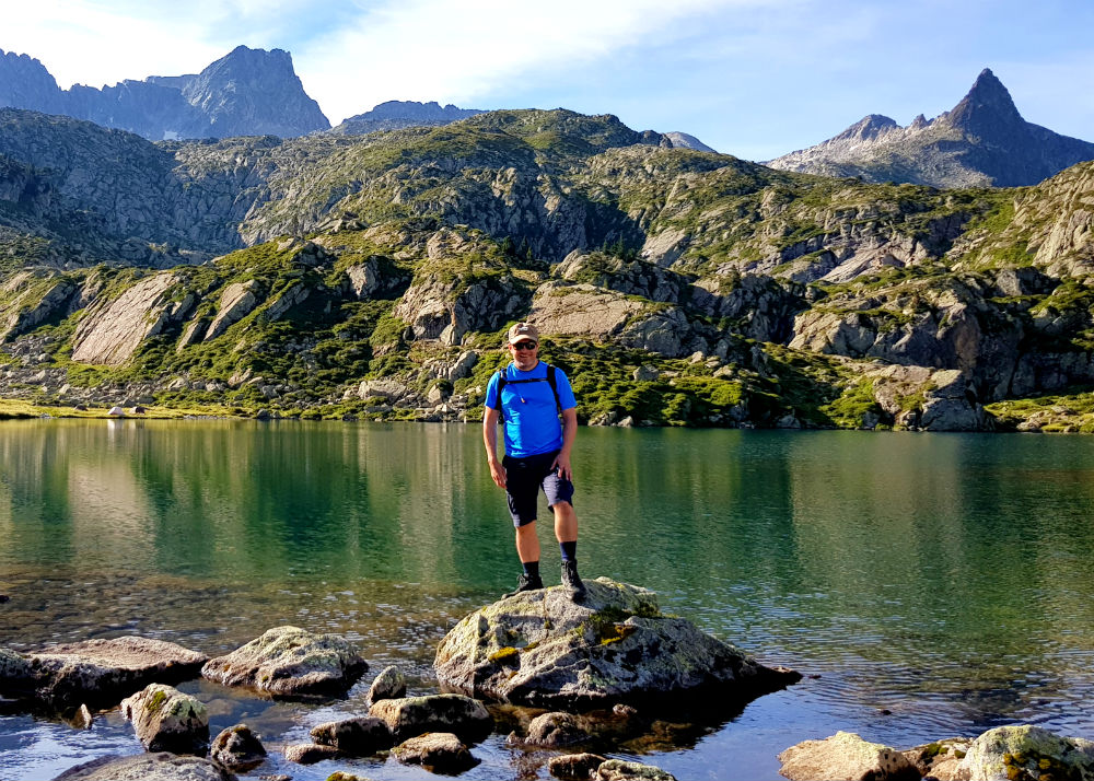 Hiking in National Reserve of Néouvielle during Pyrenees adventure holiday review