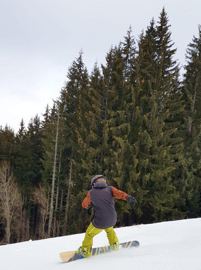 Review of Les Gets snowboarding in Portes Du Soleil