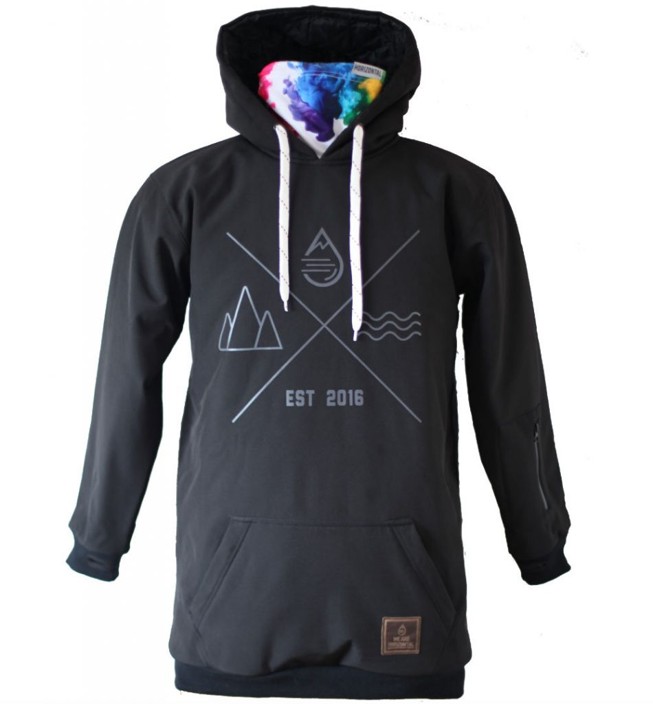Review of the Shred Softshell Hoodie by British brand We Are Horizontal