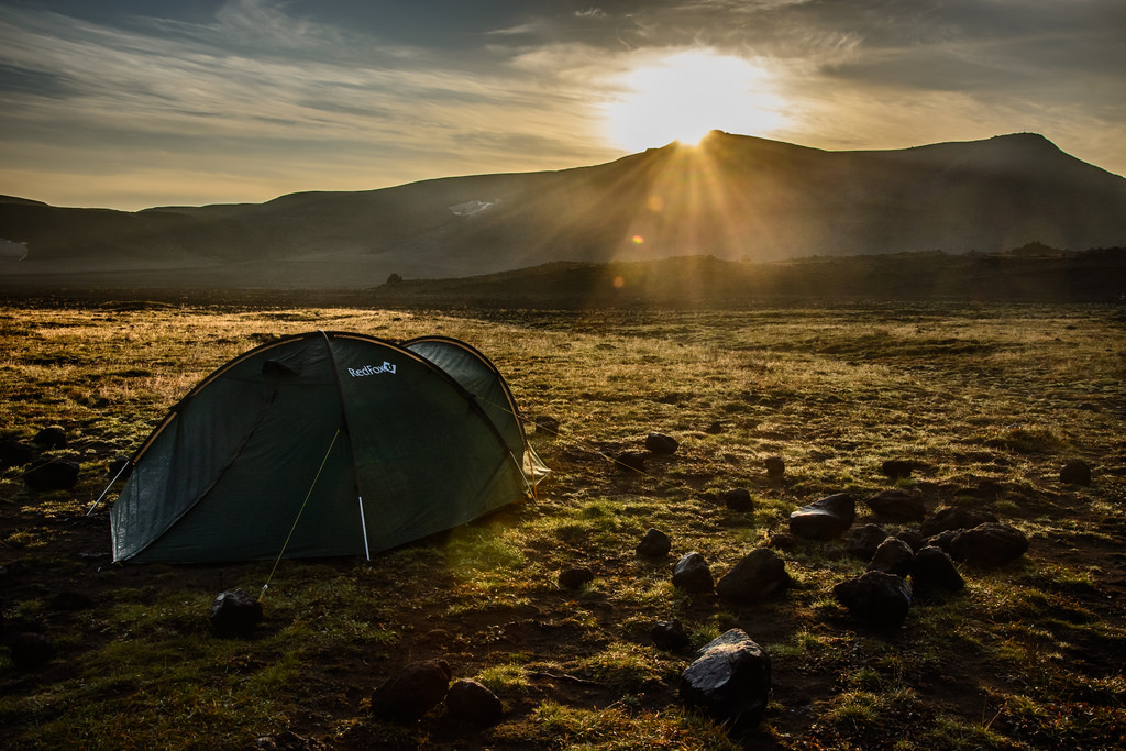Tent sleeping tips how to sleep well camping Flickr CC Image by kuhnmi