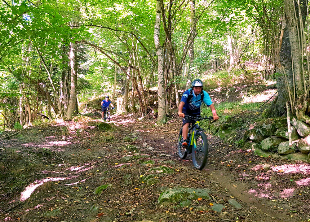 eMTB on day 2 of Pyrenees adventure holiday review
