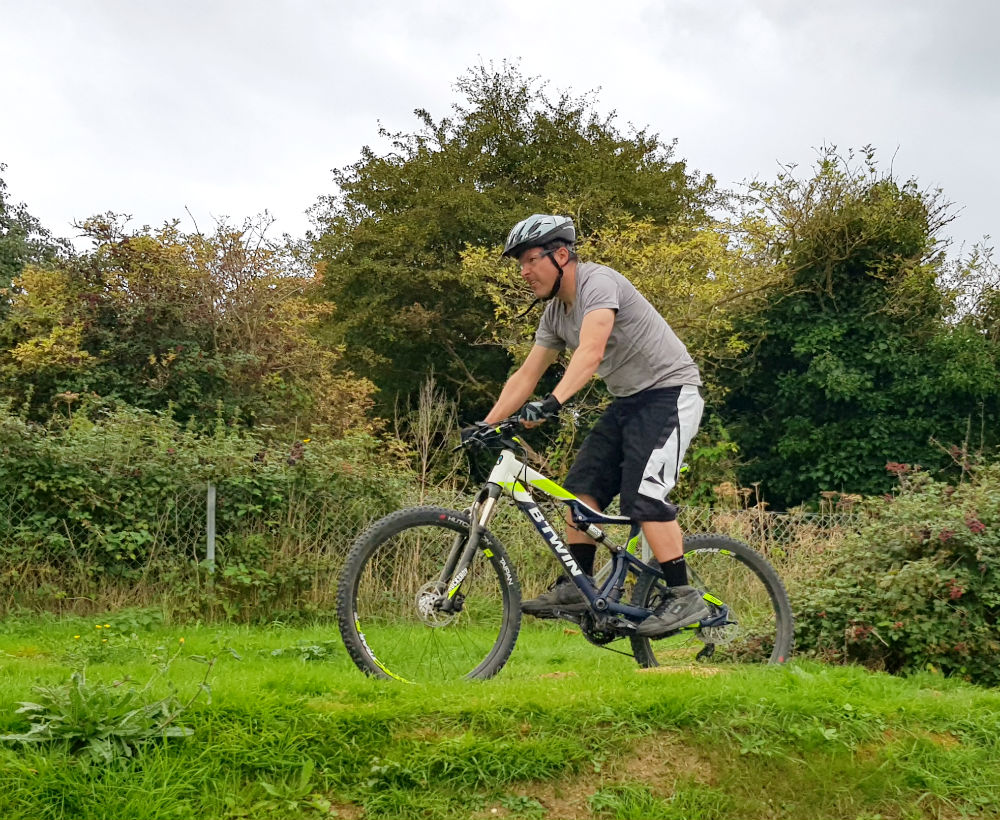BTWIN Rockrider 560s review Best cheap full suspension mountain bike