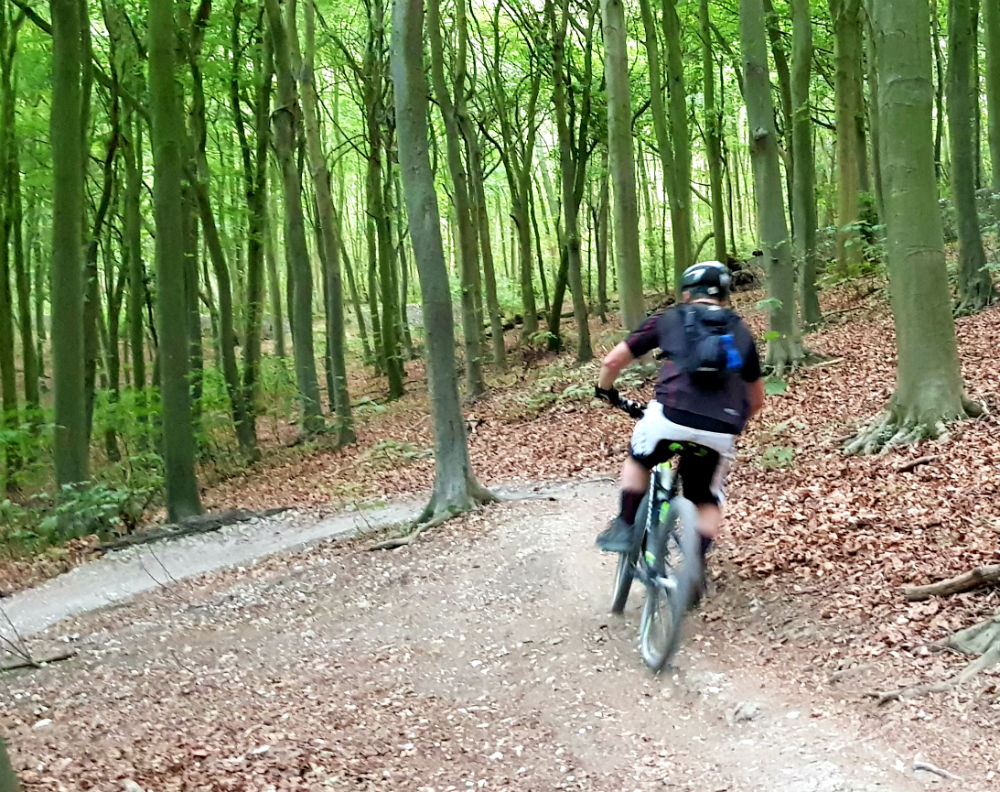 BTWIN Rockrider 560s review at Stanmer Park Brighton