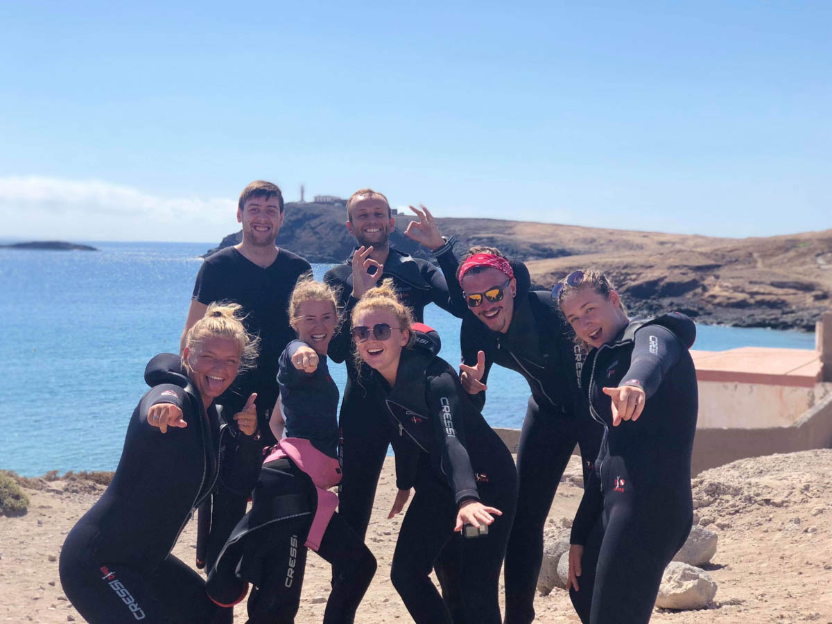 Leagues Ahead Diving discount Beginner scuba dive experience in Gran Canaria