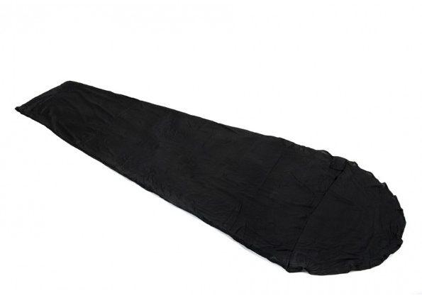black silk liner for inside sleeping bag in Winter