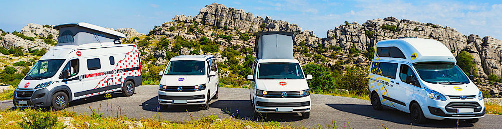 Adventure road trip in Southern Spain and portugal Image from Flamenco Campers