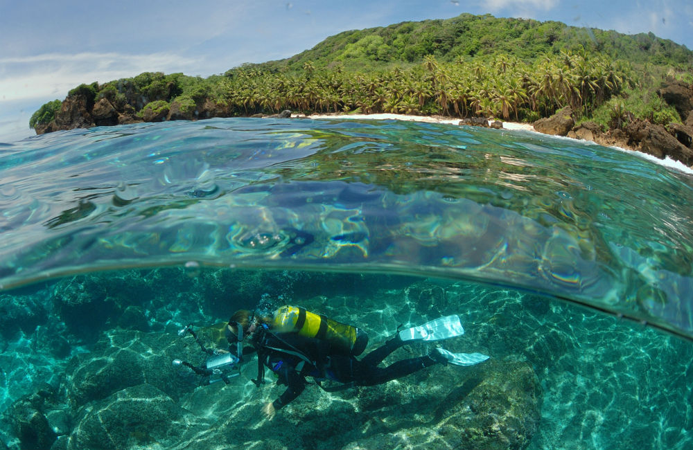 Guide to Australian scuba diving holidays in Christmas Island CITA image by Justin Gilligan