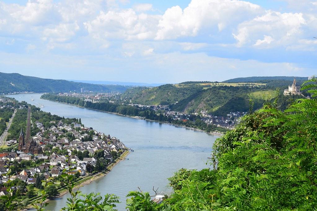 Rheinsteig one of the best german treks Flickr CC image of the Rhine by d_marino2001