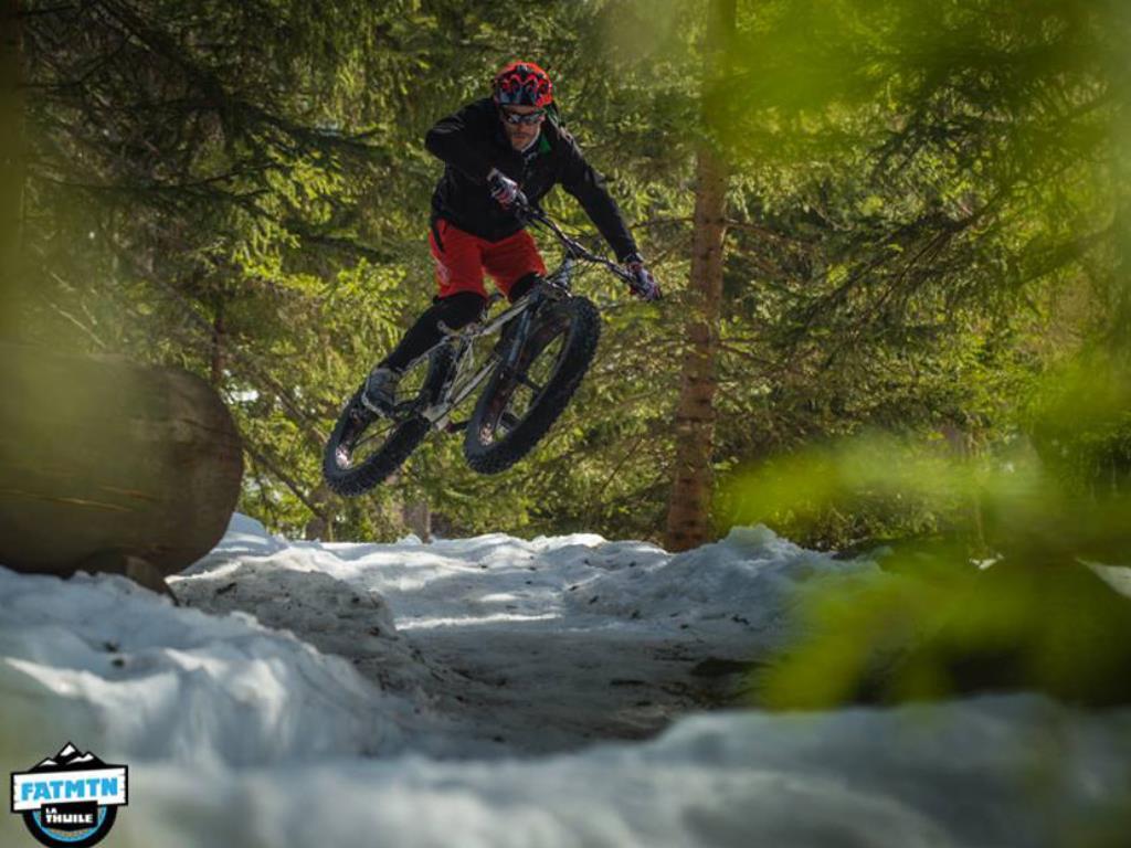 Downhill Mountain Bike park La Thuile Copyright VALLE D'AOSTA-MTB