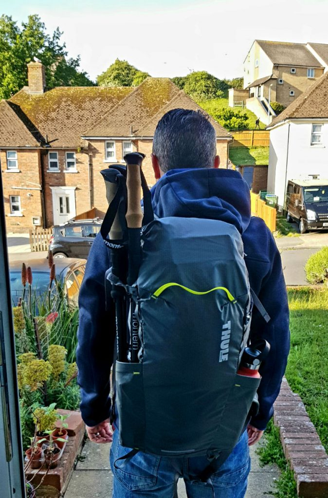 Review of Thule Stir 28L Versatile lightweight backpack leaving for Cumbria