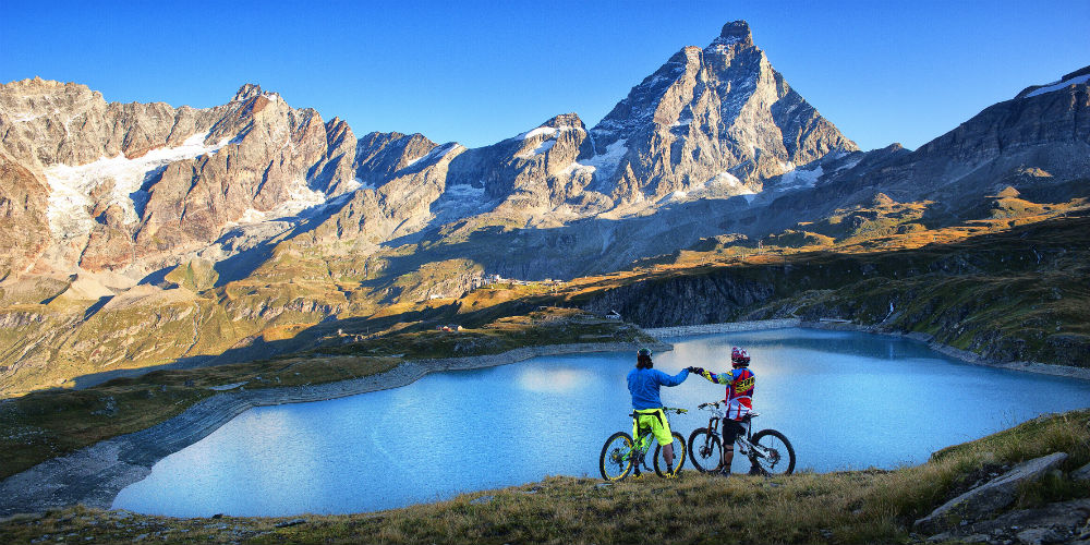 Alps MTB holidays in Italy Copyright VALLE D'AOSTA-Mountain bike Cervinia (foto Nicolò Venturin Chabloz)-8130
