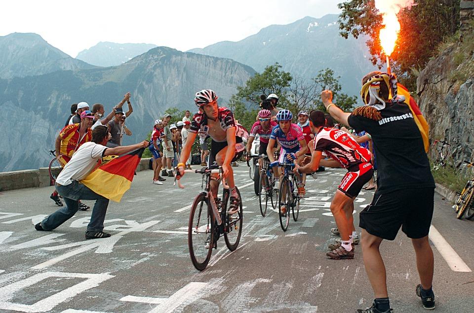 toughest cycling climbs worldwide tour-de-france alpe d huez Pixabay royalty free image