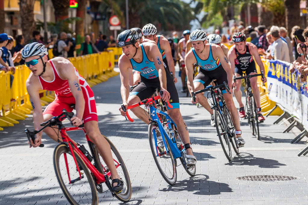Cycling one of the 11 best activities to try during Gran Canaria adventure sports holidays Flickr CC image of Gran Canaria Triathlon by Bengt Nyman