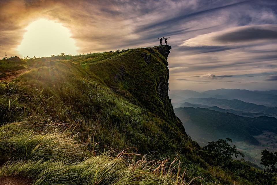watching sports vs adventure holidays pixabay royalty free image of hiking in Chiang Rai thailand