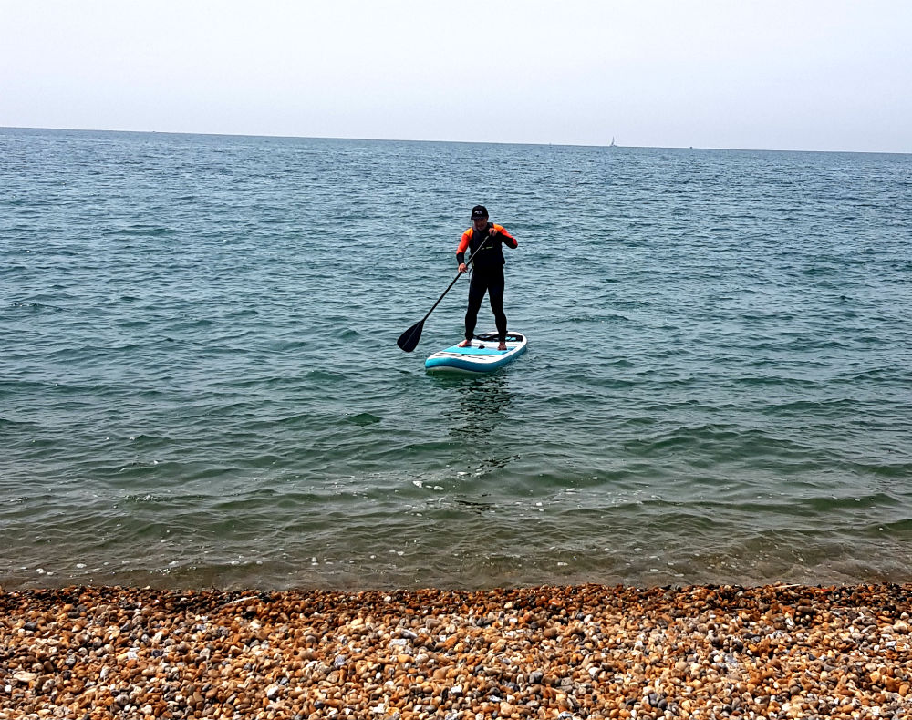 Rainbow Goosehill SUP review Durable and light inflatable paddle board