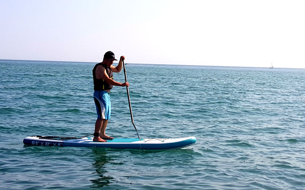 Rainbow Goosehill SUP review in Newhaven, Sussex