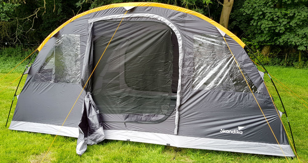 Skandika Gotland 6 review of large family tunnel tent