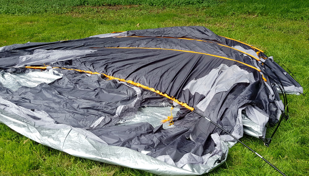 The Skandika Gotland 6 is an Easy to pitch large family tent