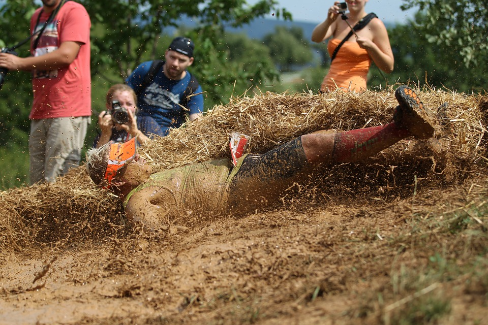 how about a tough mudder for a stag do Pixabay royalty free image
