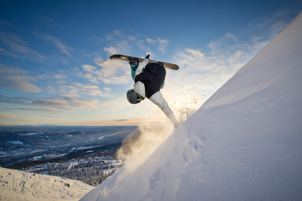 Planning snowboarding holidays in 2015 flickr image by Trysil