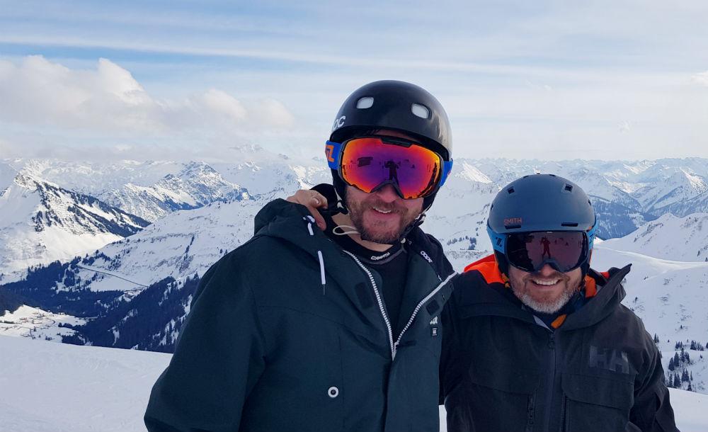 Damuls-Mellau snowboarding holiday in Bregenzerwald Austria