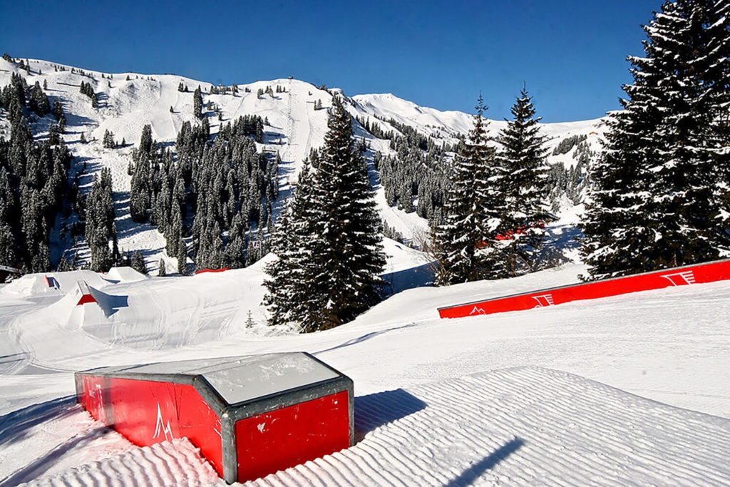 Damuls snowpark
