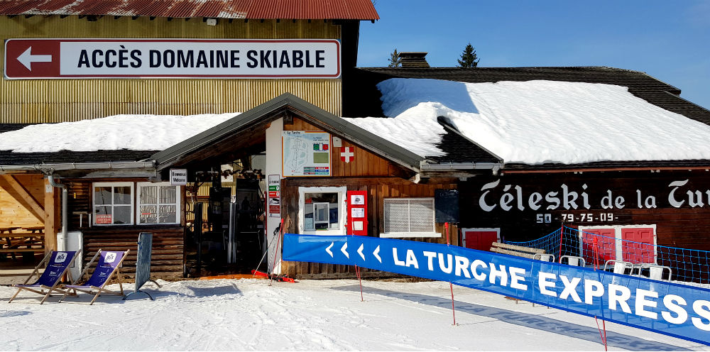 La Turche Express in Les Gets the only independently owned lift in the Portes Du Soleil