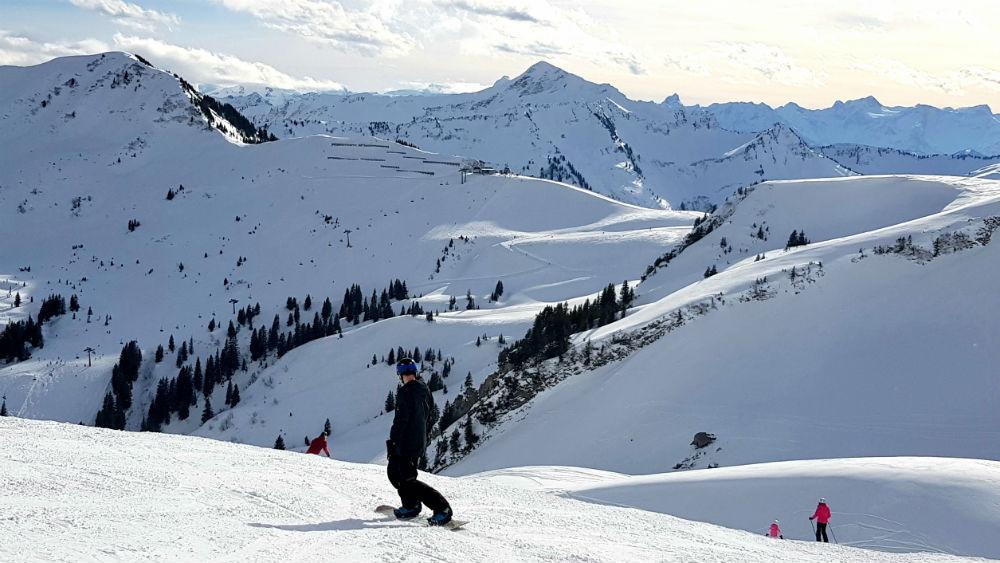Review of Damuls-Mellau snowboarding holiday in Bregenzerwald Austria