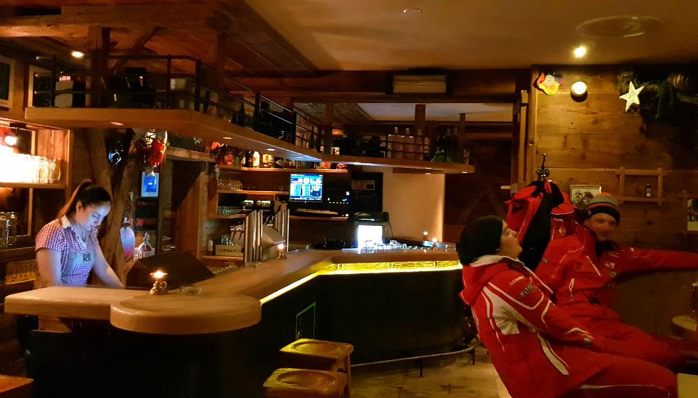 Scharfes Eck bar in Damuls austria