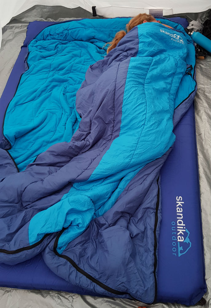 Skandika Blue Night Sleepyhead 7 review Beginner camping essentials list: Guide to camping gear for first-timers