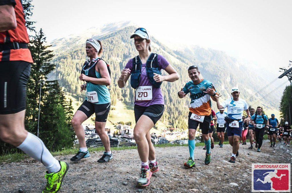 uphill on Silvretta Run 3000 Sarah Hannibal