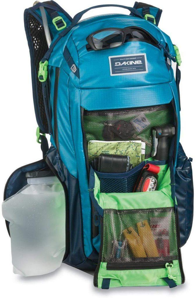 Packed Dakine Seeker 24L excellent MTB rucksack