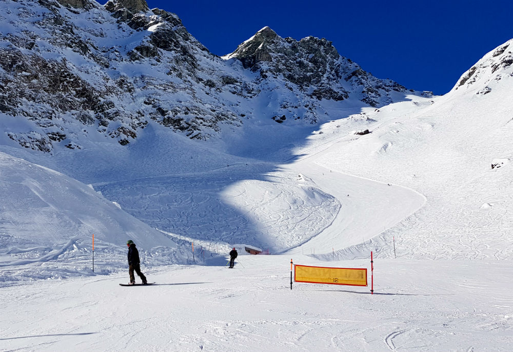 Review of Champoluc snowboarding holiday in Monte Rosa