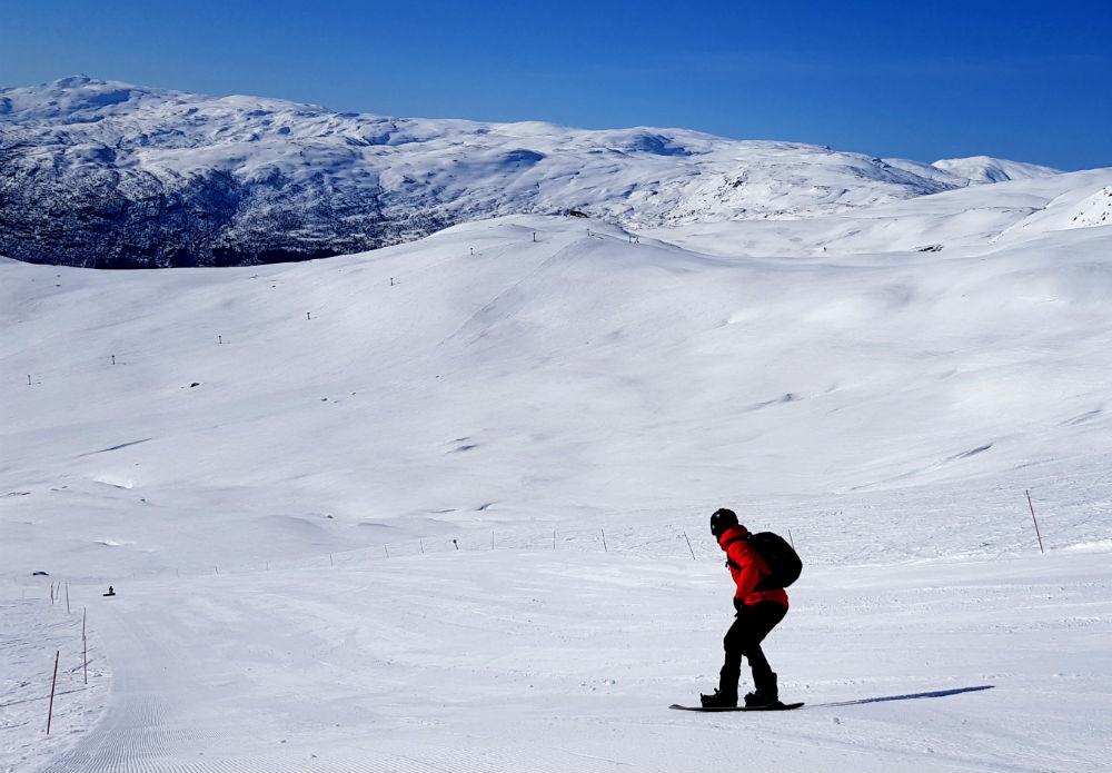 Review of Myrkdalen snowboarding