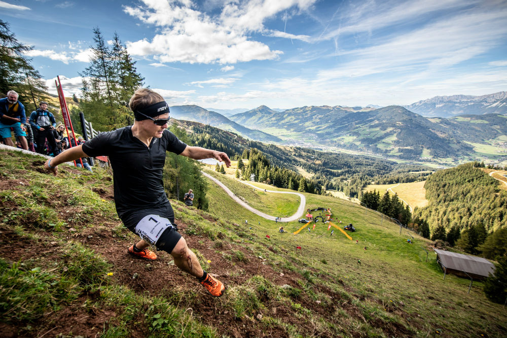World's craziest trail running event - inov-8 decent race in Kitzbuhel ©Michael_Werlberger