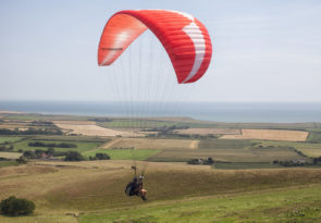 paragling in cheverton one of the 18 best Isle of Wight activities image copyright of www.visitisleofwight.co.uk