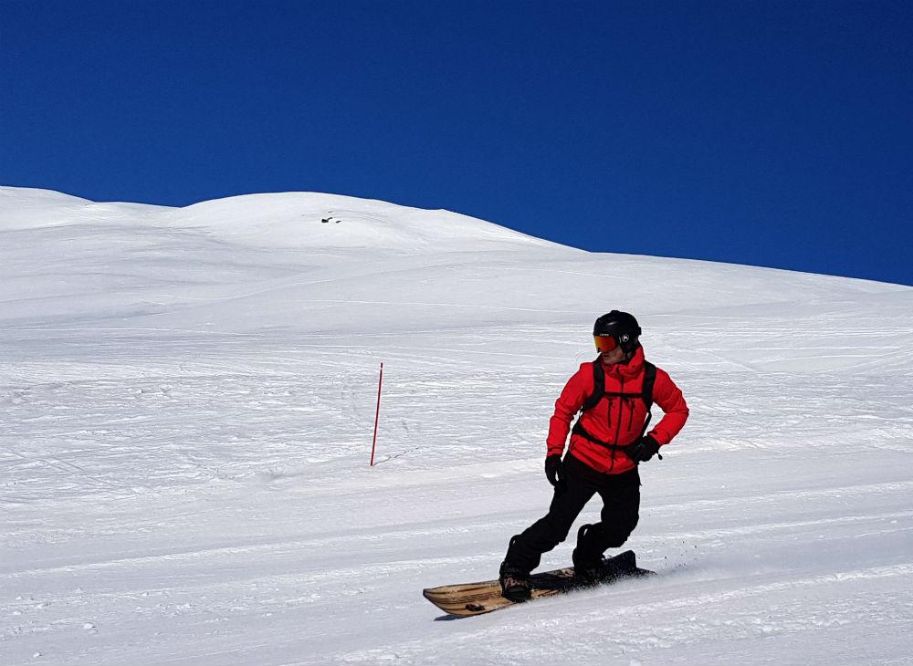 snowboarding holiday in Norway in the Fjory region in Myrkdalen resort