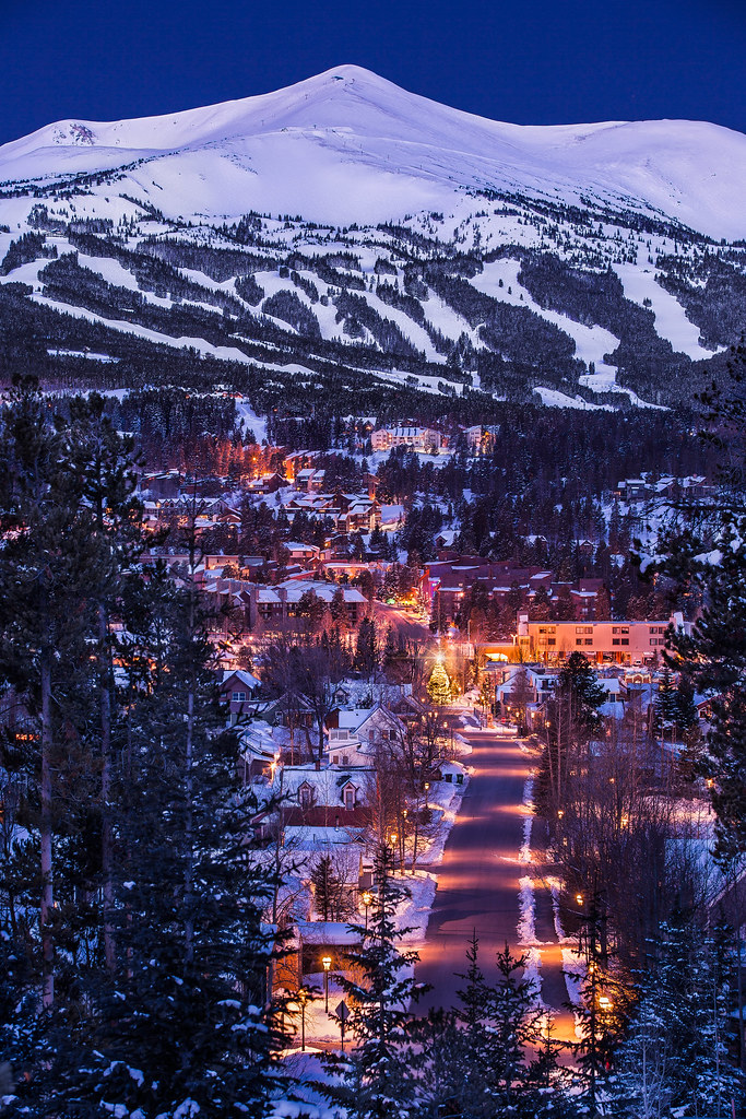 Best solo ski trips Including Christmas singles skiing holiday Flickr CC image of Breckenridge Colorado by Dave Dugdale