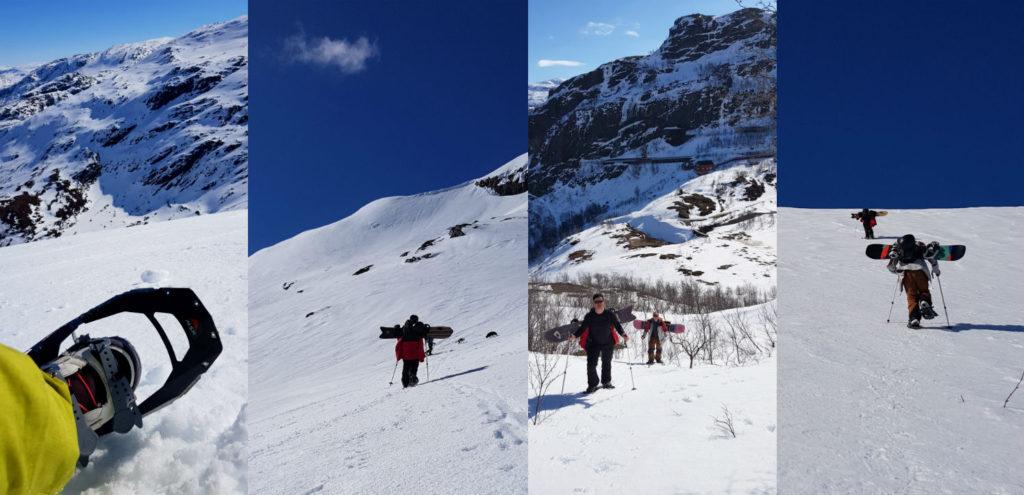 Review of Freeride the Fjords in Norway snowshoeing in Vatnahalsen