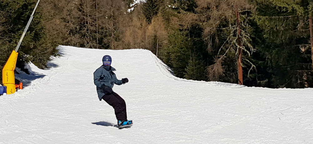 Review of Solden snowboard holiday in Otztal