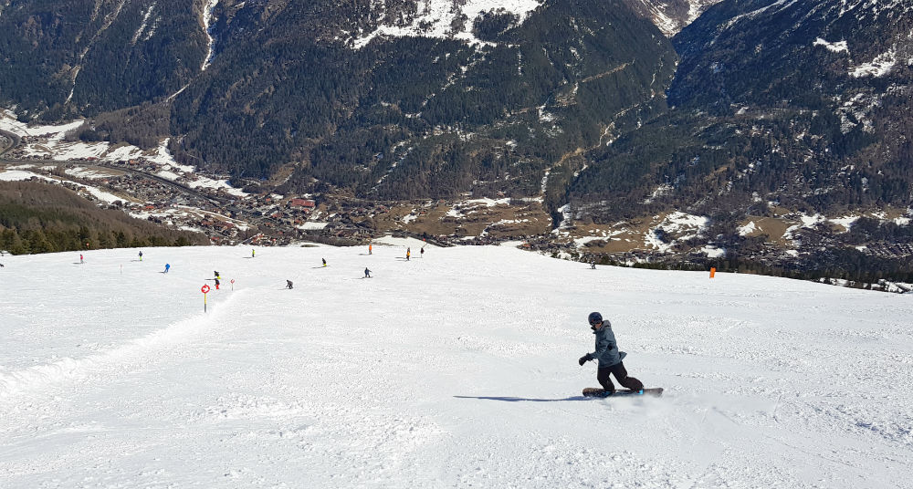 Review of Solden snowboard holiday in Otztal Austria